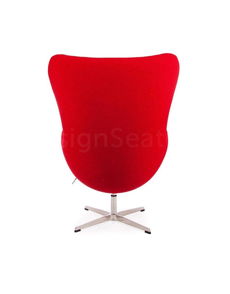 Egg chair Rood