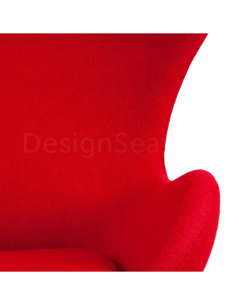 Egg chair Red Wool