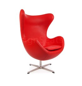 Egg chair Rood Leer
