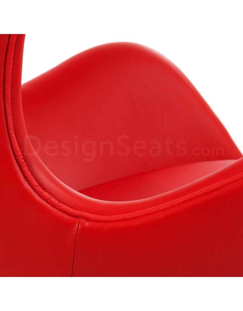 Egg chair Rood Leer
