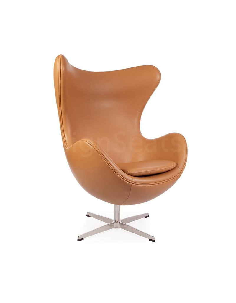 Egg Chair Cognac.Egg Chair Design Seats Buy Designer Chairs Online