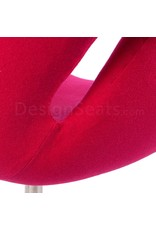 Swan chair Roze Cashmere