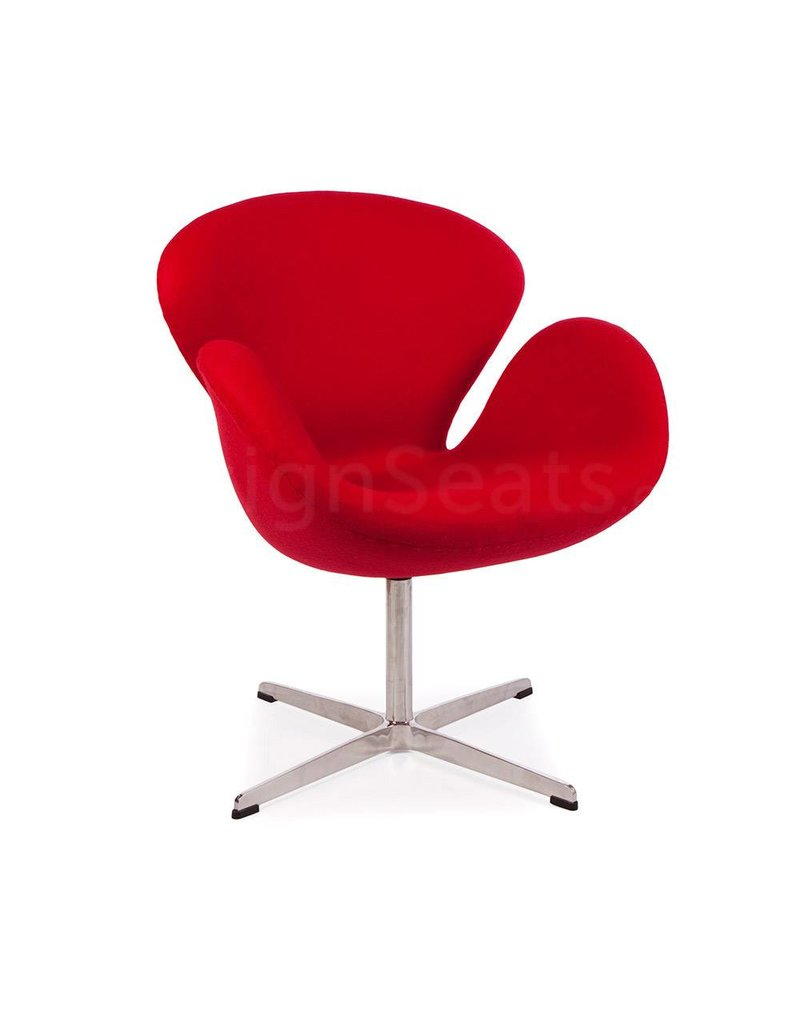 Swan chair Red Cashmere