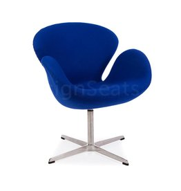 Swan chair Blue Cashmere