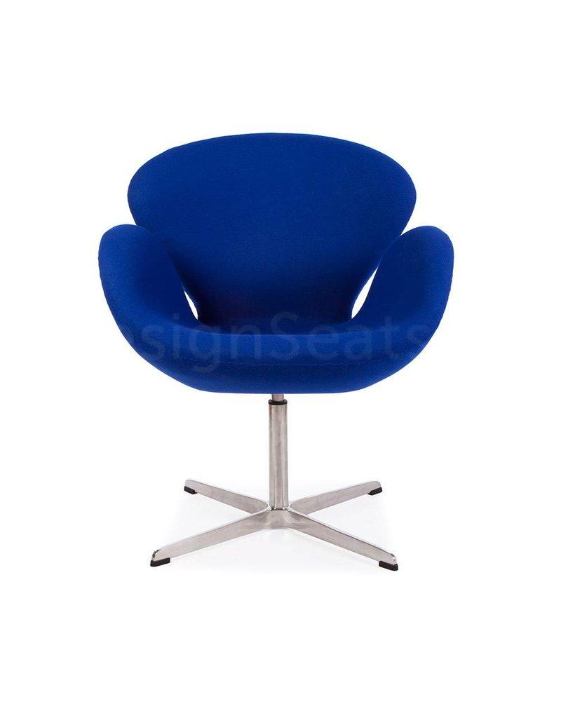 Swan chair Blue Cashmere