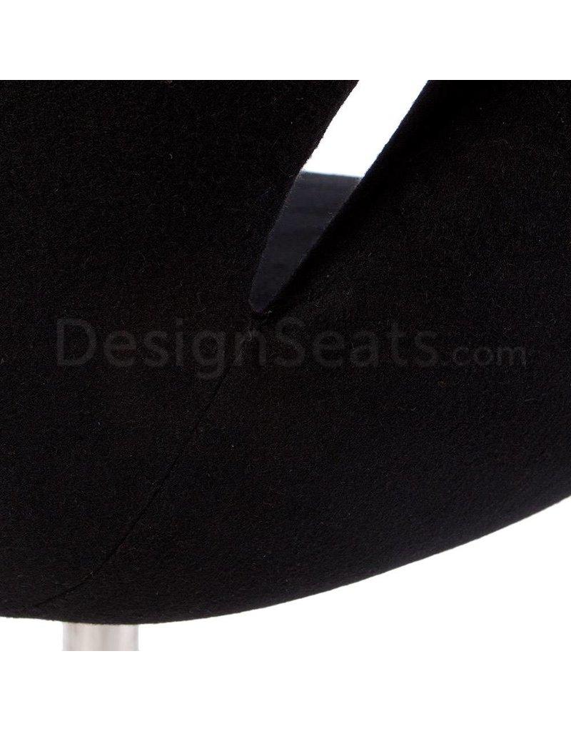 Swan chair Black Cashmere