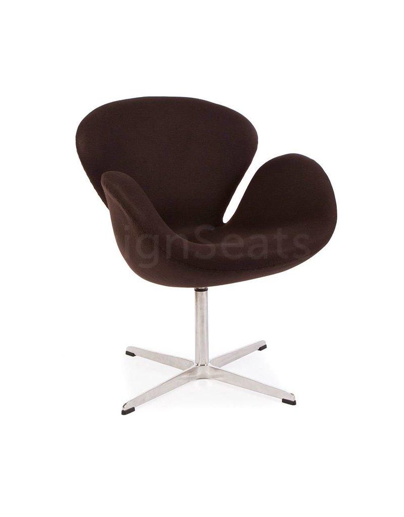 Swan chair Bruin
