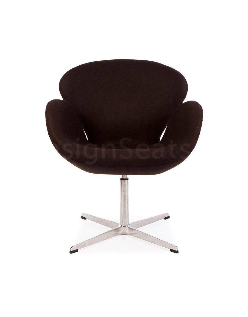 Swan chair Bruin Cashmere