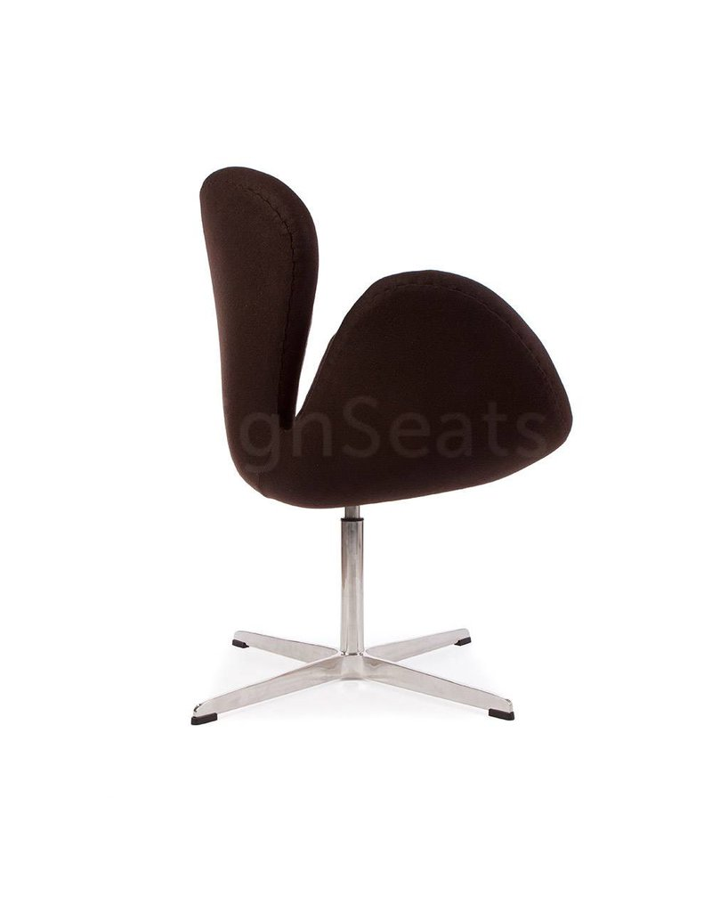 Swan chair Brown Cashmere