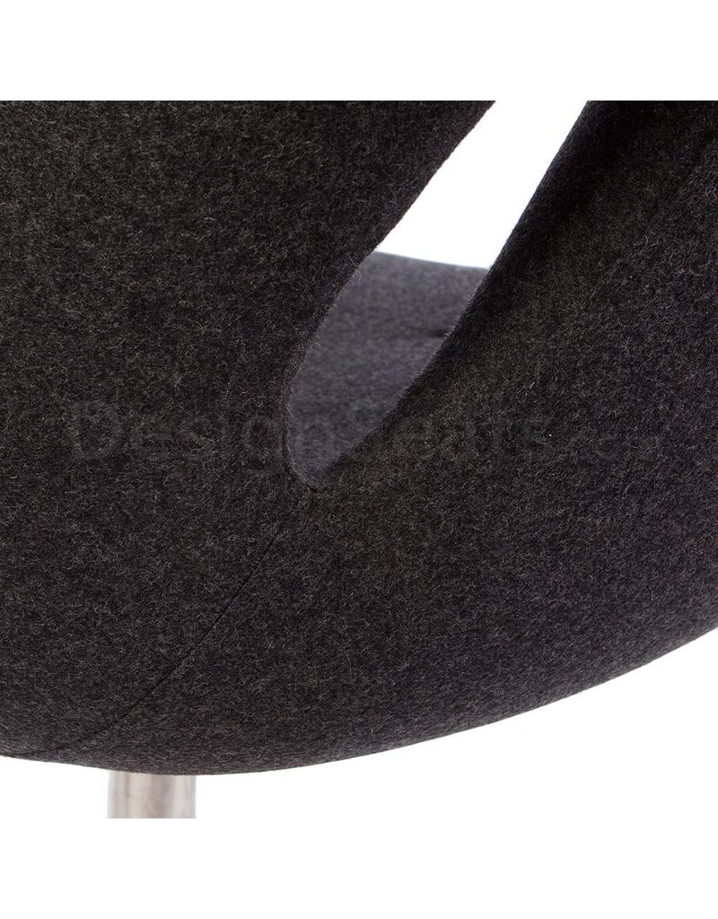 Swan chair Grey Cashmere