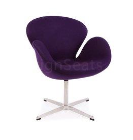 Swan chair Paars