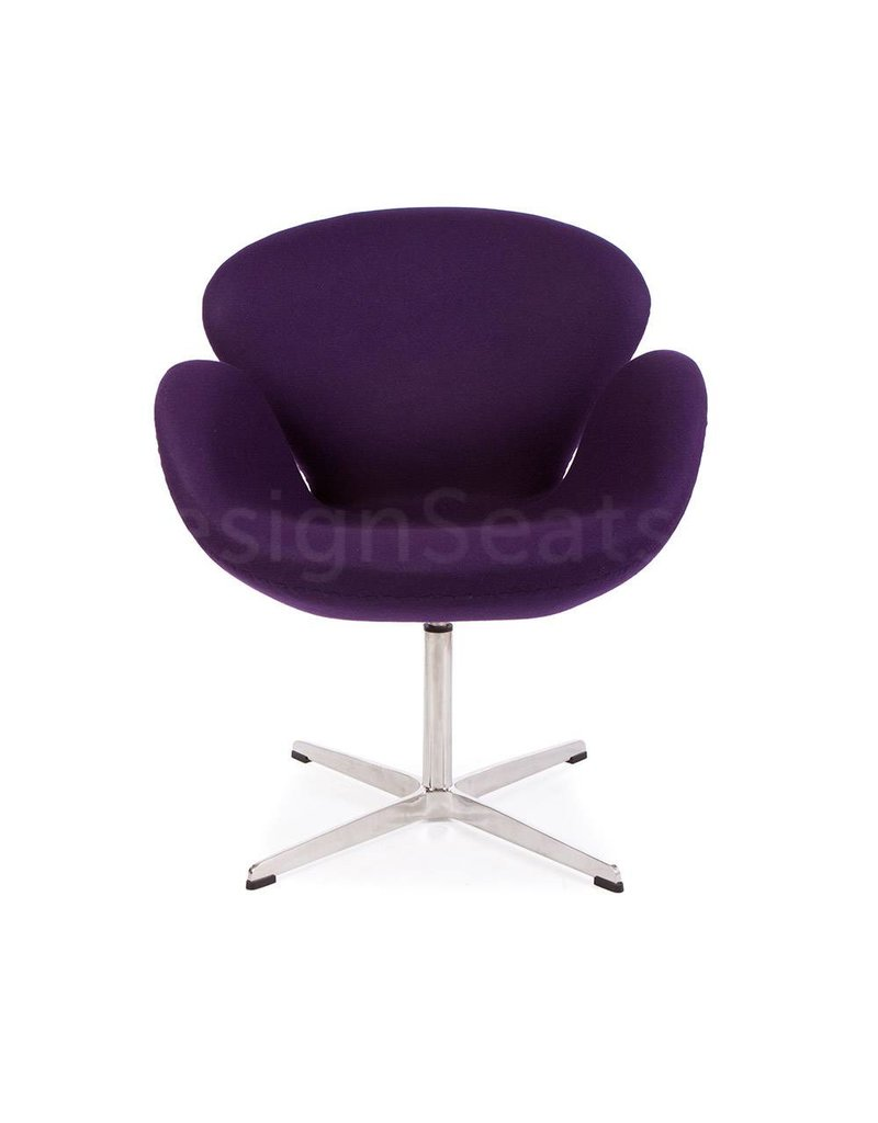 Swan chair Purple Cashmere