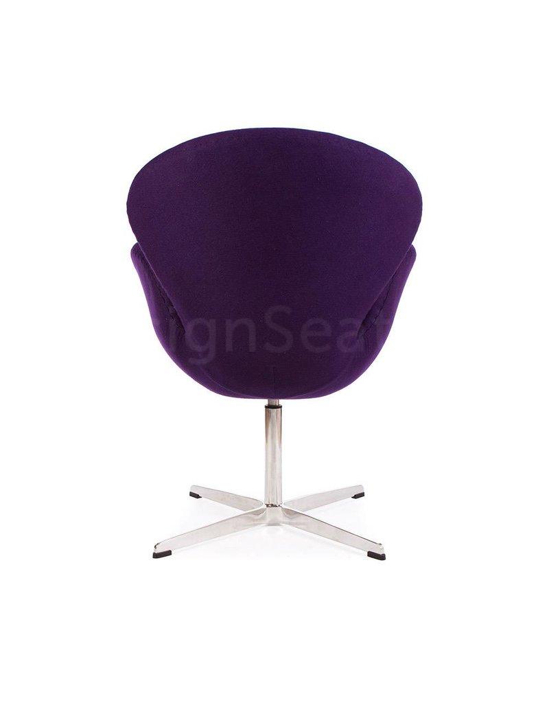 Swan chair Purple