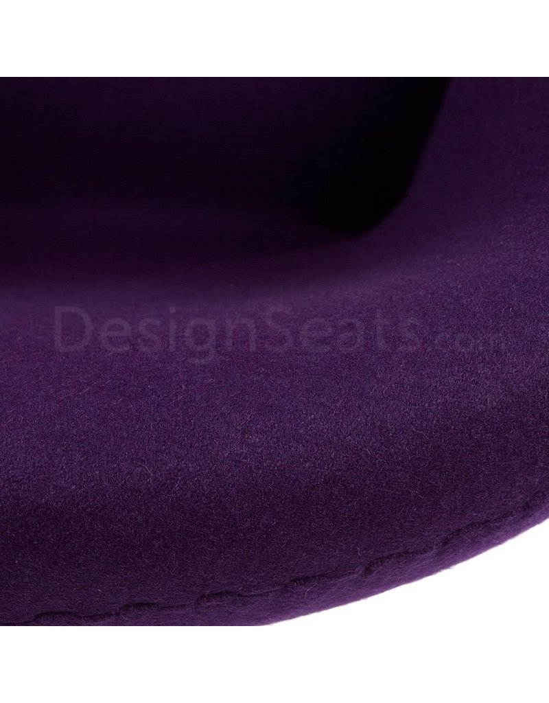 Swan chair Paars Cashmere