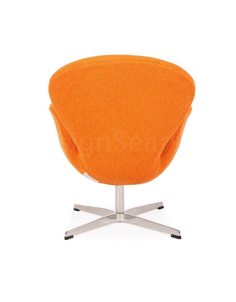 Swan chair Oranje Wool