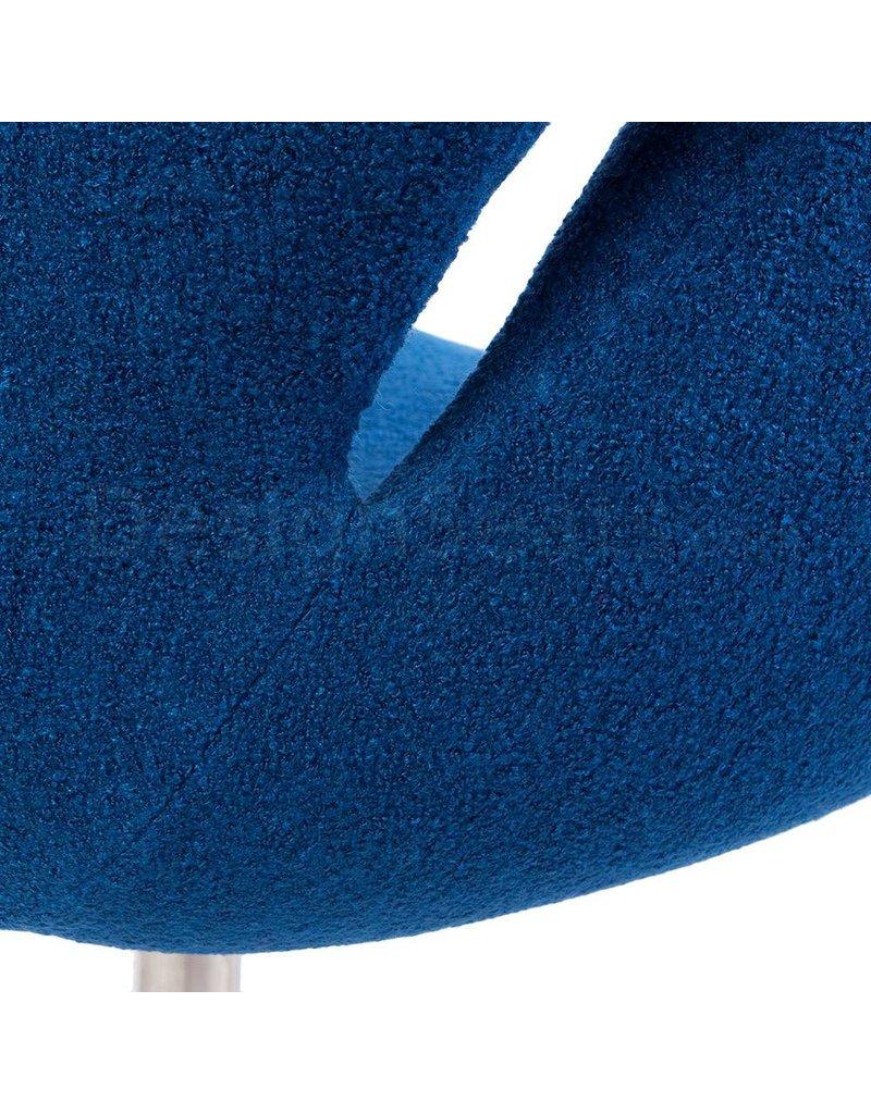 Swan chair Blauw Wool