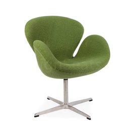 Swan chair Olijfgroen