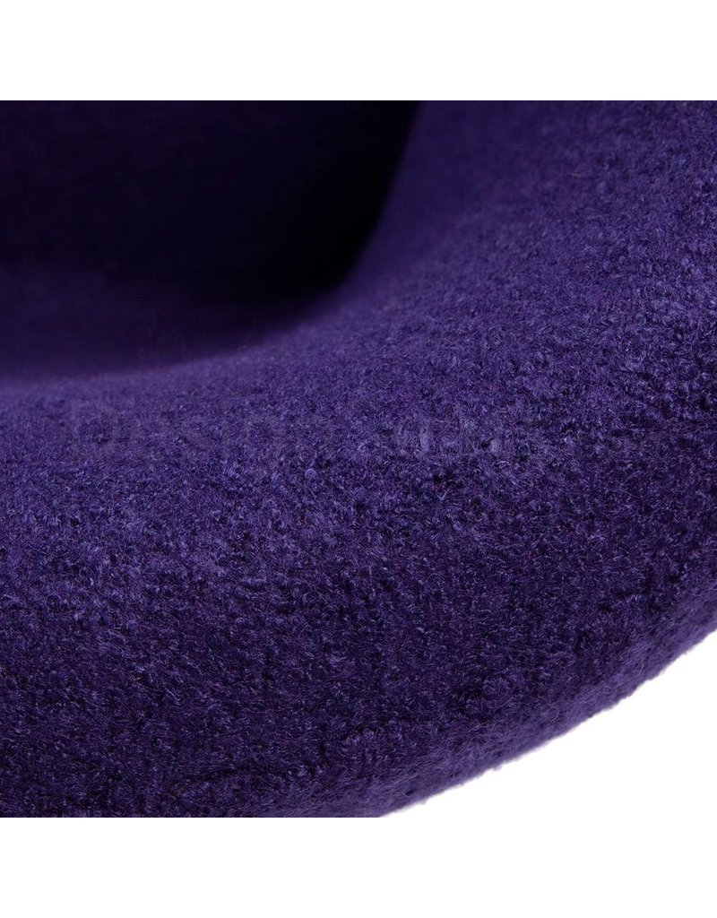 Swan chair Purple Wool