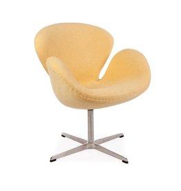 Swan chair Yellow
