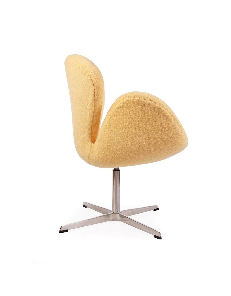 Swan chair Geel Wool