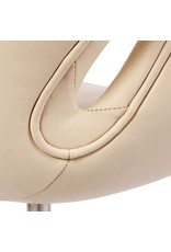 Swan chair Beige Leather