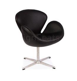 Swan chair Zwart
