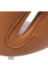 Swan chair Cognac