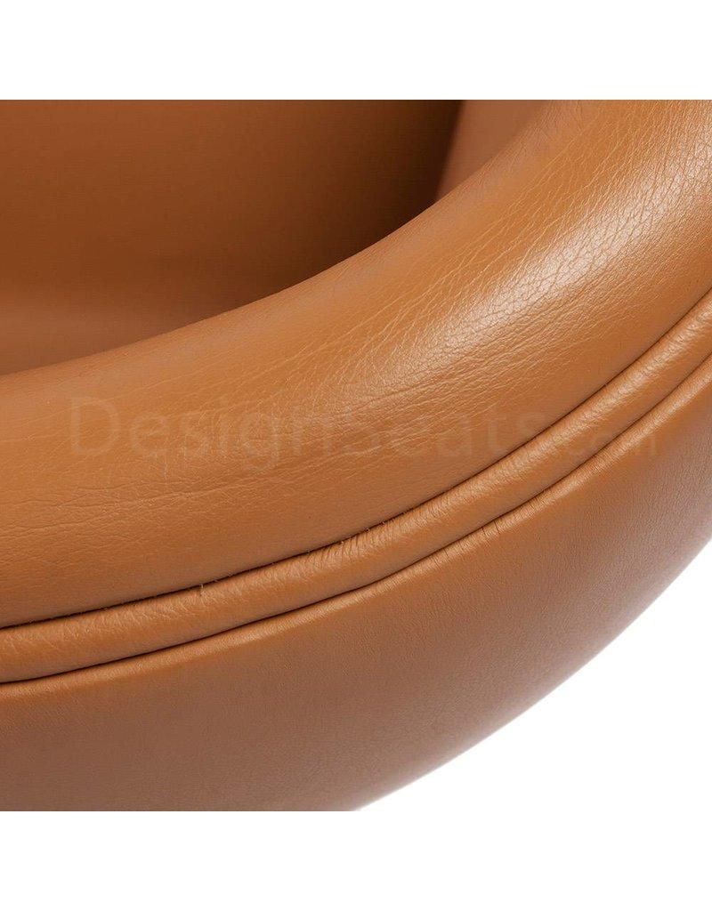 Swan chair Cognac Leather
