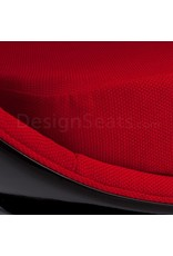Black Ball Globe Lounge Chair black-red