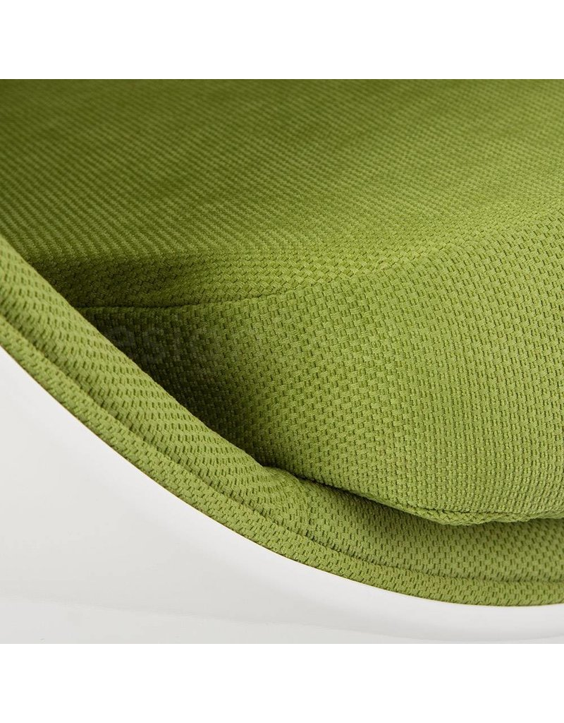 Ball Globe Lounge Chair white-green
