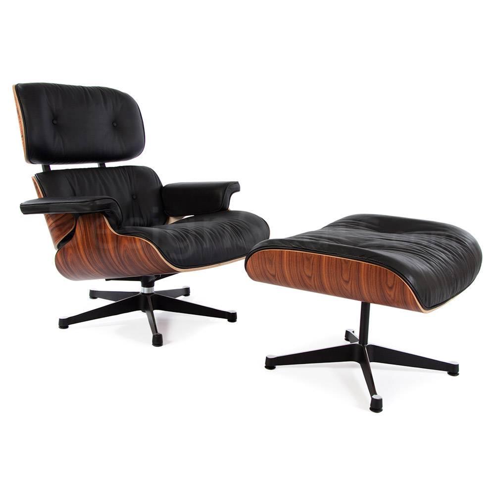 Eames Lounge Stoel.Eames Lounge Chair Rosewood Black Design Seats Buy Designer