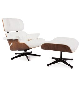 Eames Lounge Chair Rosewood Wit