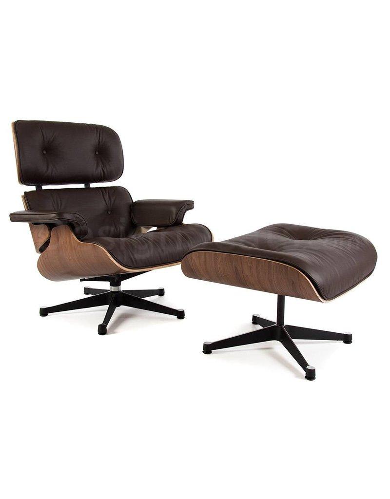 Eames Lounge Chair Walnut Brown