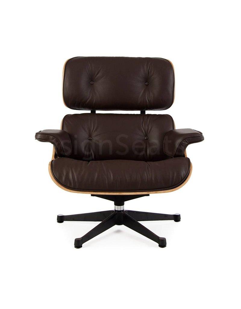 Eames Lounge Chair Walnut Bruin