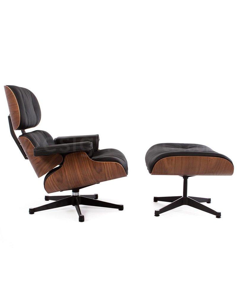 Eames Lounge Stoel.Eames Lounge Chair Walnut Black Design Seats Buy Designer
