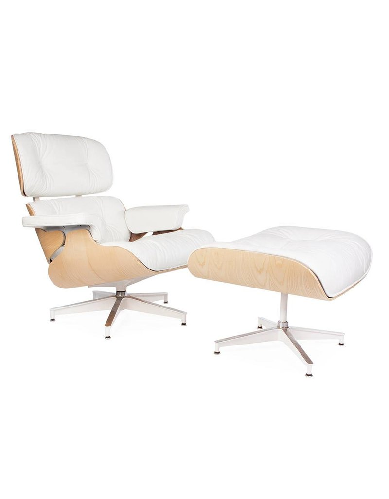 Eames Stoel Lounge.Eames Lounge Chair Exclusive White Design Seats Buy Designer