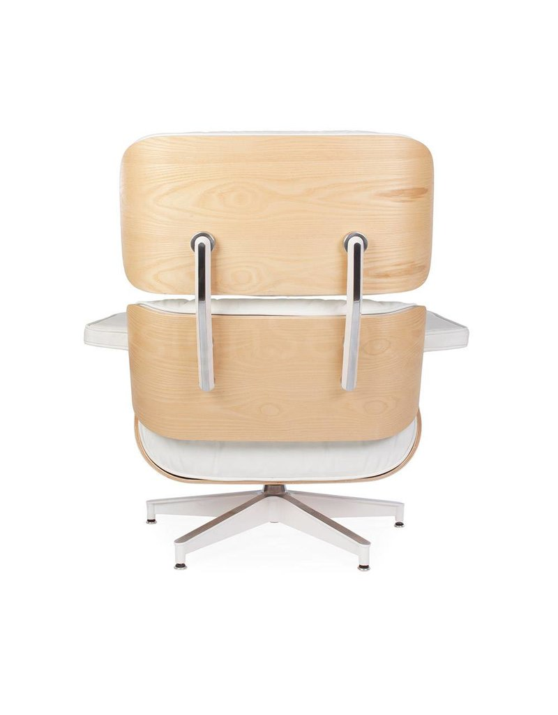 Eames Lounge Chair Exclusive White
