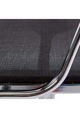 EA108 Eames Conferentiestoel Mesh zwart