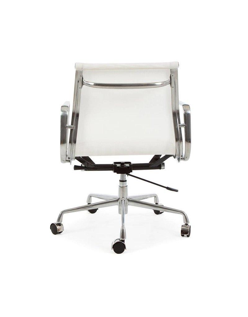 EA117 Mesh Bureaustoel wit