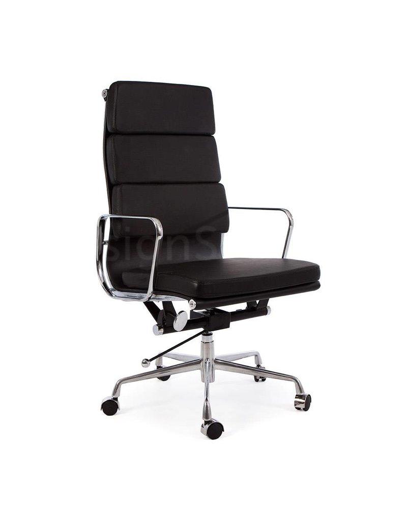 Hoge Bureaustoel Kopen.Ea219 Eames Bureaustoel Zwart