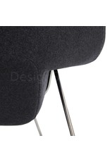 Womb chair Grey