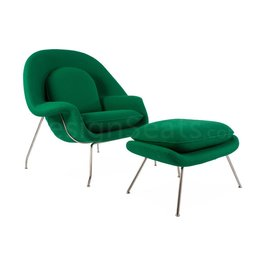 Womb chair Groen