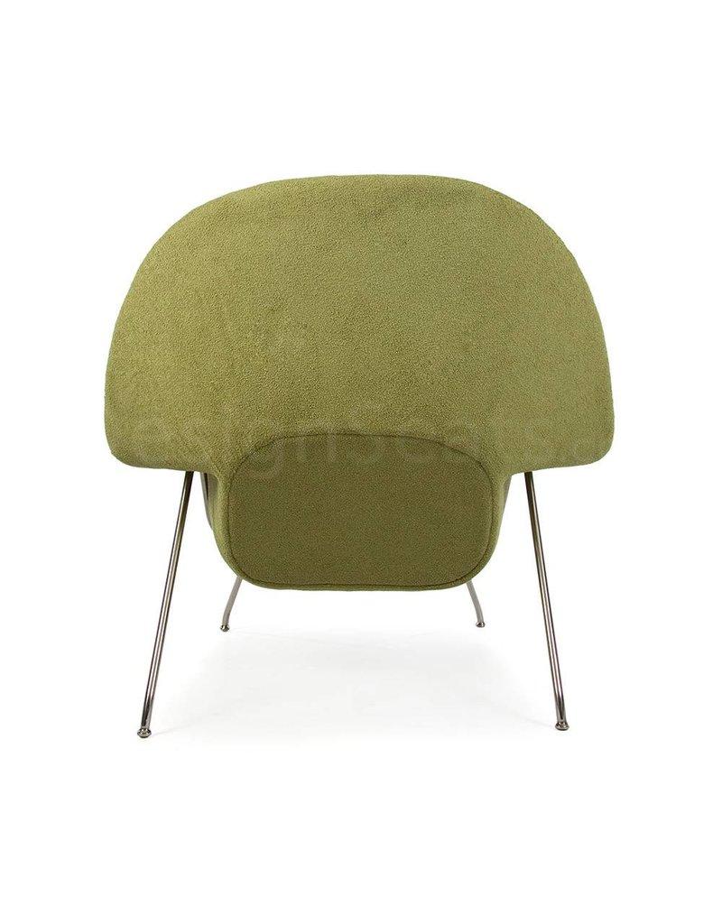 Womb chair Olijf