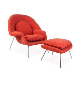 Womb chair Oranje