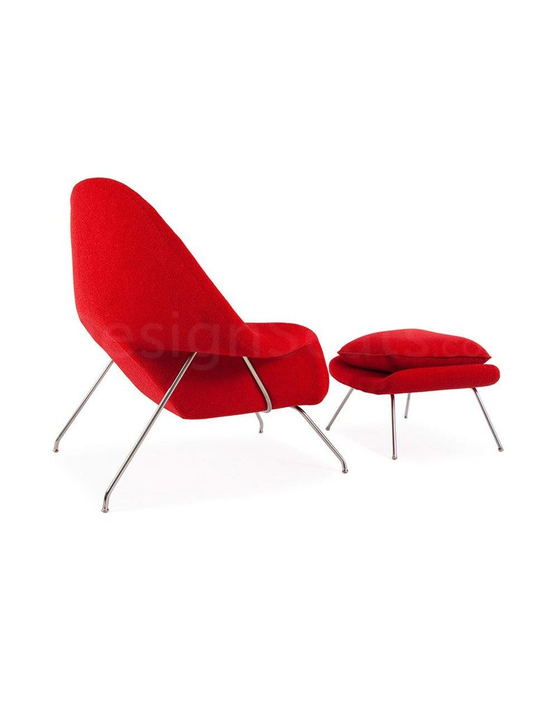 Womb chair Rood