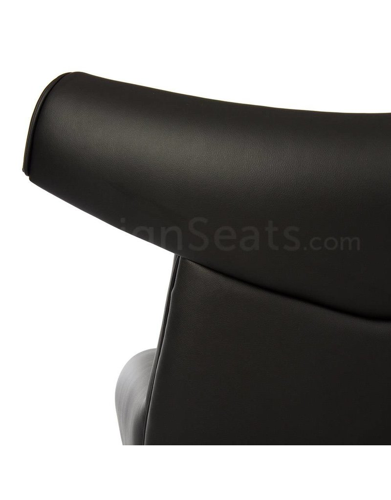 Ox chair Black-Leather