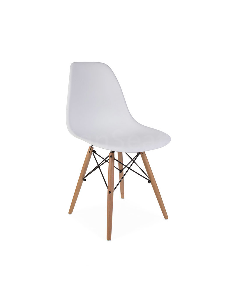 Admirable Dsw Eames Design Dining Chair White Bralicious Painted Fabric Chair Ideas Braliciousco