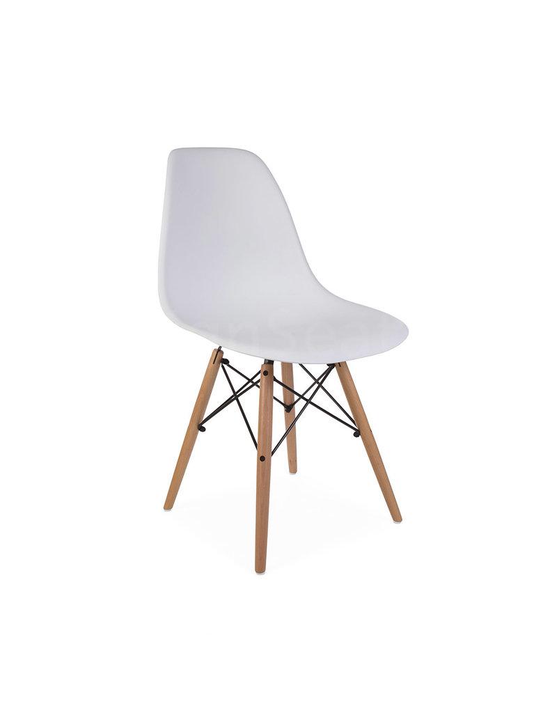 Mooie Witte Eetkamerstoelen.Dsw Eames Design Eetkamerstoel Wit Design Seats Design Stoelen