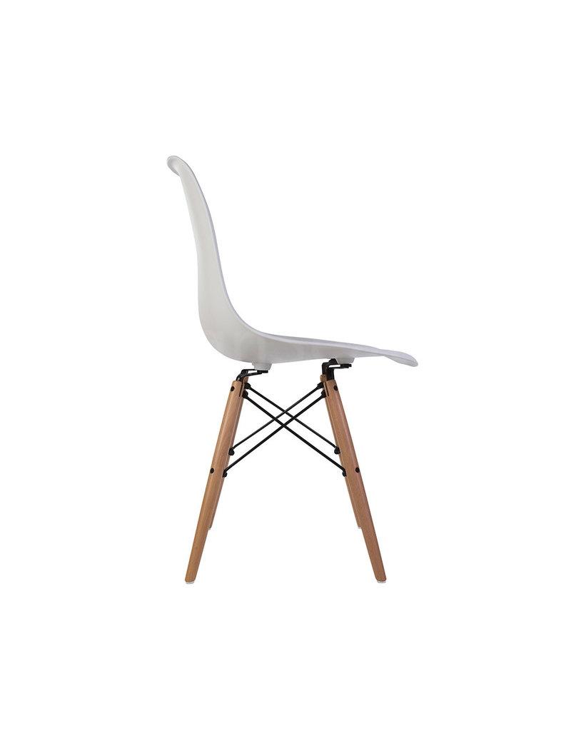 DSW Eames Design Eetkamerstoel Wit