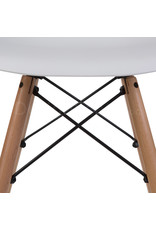 DSW Eames Design Dining Chair White